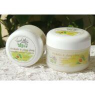 VeraNatura Avokádó & ylang-ylang bőrtápláló testápoló és arckrém 50 ml
