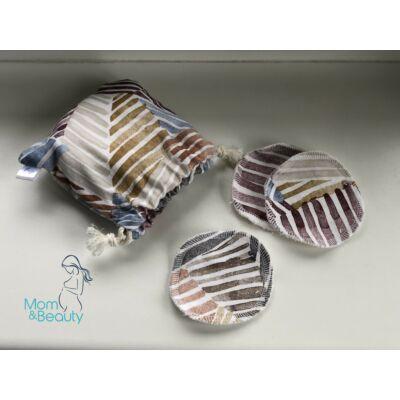 Purple Turtle Bag Arclemosó korong szett barnás
