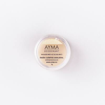 Ayma Érzéki csábítás vaníliával - krémdezodor próba 3 g