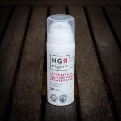 Nagora Argán szem-és szájkörnyék ápoló krém éjszakára 30+ 30 ml