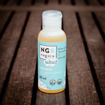 Nagora Babaolaj mandulaolajjal, E-vitaminnal, illatmentes 60 ml