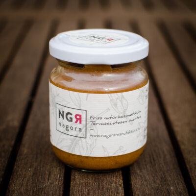 Nagora Holt-tengeri sós, rózsaszín agyagos testradír száraz bőrre 220 ml