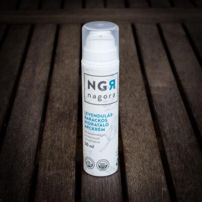 Nagora Levendulás-barackos hidratáló arckrém normál bőrre 50 ml