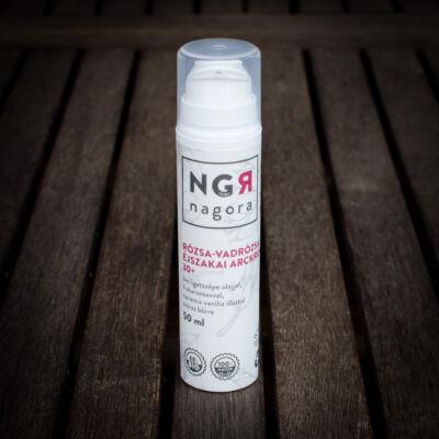 Nagora Rózsa-vadrózsa éjszakai arckrém száraz bőrre 30+ 50 ml
