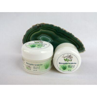VeraNatura Aloe vera & babassu vaj bőrtápláló kézkrém airless flakonban 30 ml